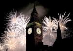 00 New Years. London. England. UK. Big Ben.20.01.13