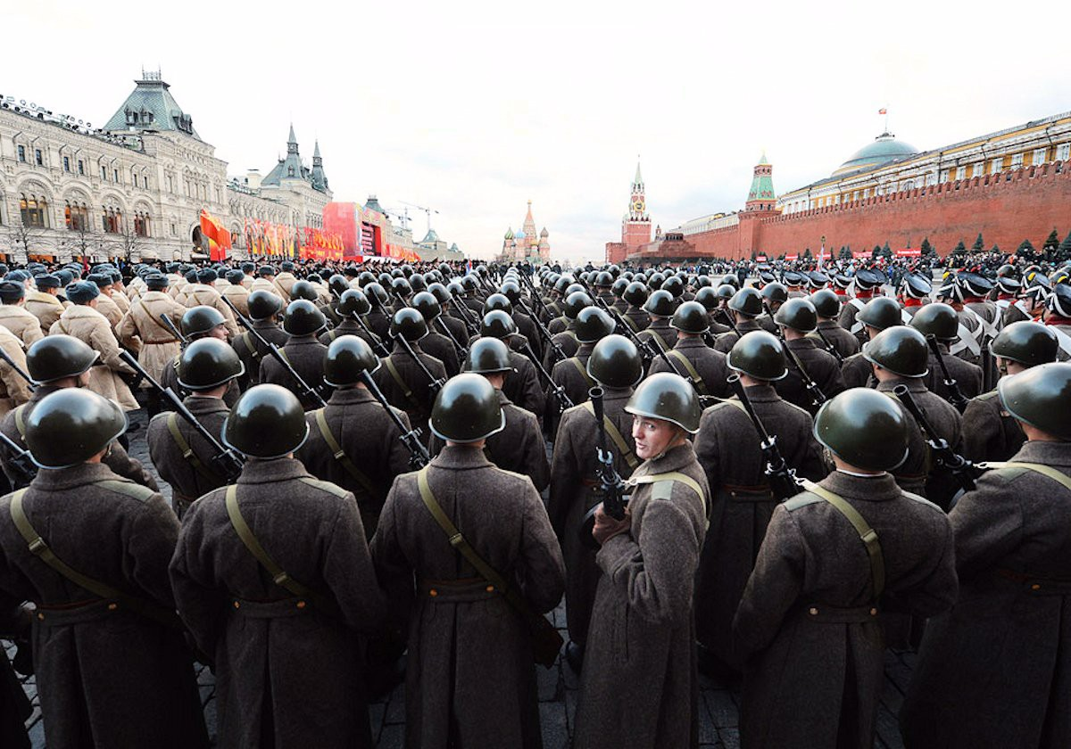 00 Parade on Red Square. Moscow. 07.11.12. 05.01.13