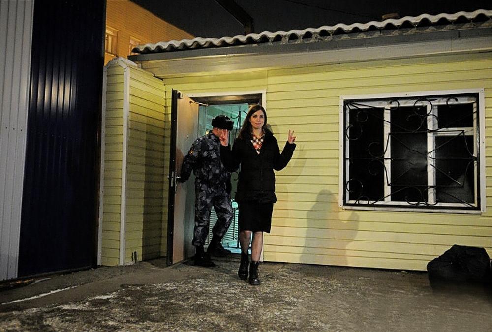 00 Images of the Week 07. Pussy Riot member Nadezhda Tolokonnikova. 02.01.14
